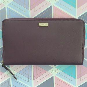 Kate Spade Large Burgundy Wallet
